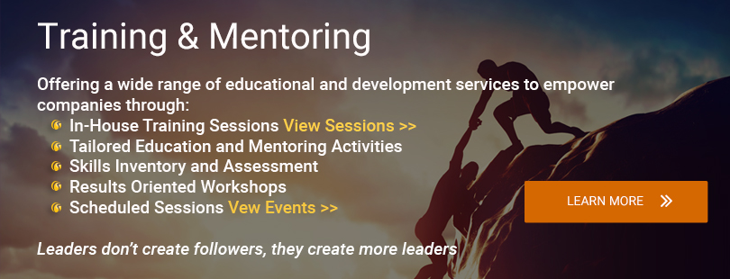 Training and Mentoring