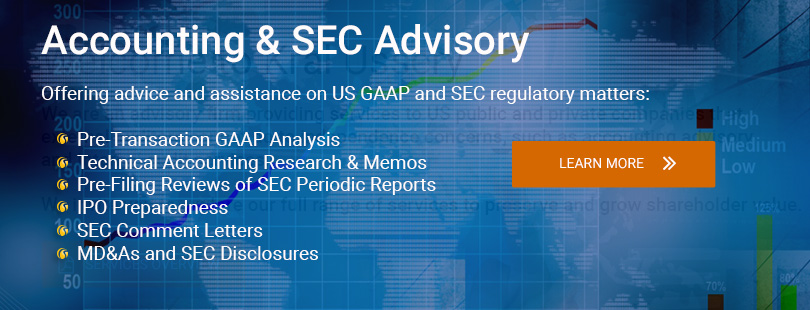 Accounting & SEC Advisory