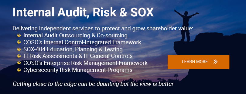 Internal Audit, Risk & SOX